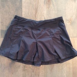 Lululemon Black tennis skirt